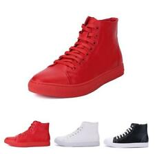 Mens Walking High Top Sport Breathable Outdoor Sneakers Running Trainers Shoes