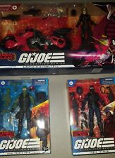 GI Joe Classified Baroness, Beach Head, and Cobra Trooper (NEW in hand)
