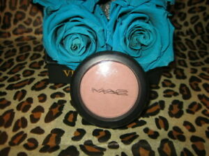 MAC Satin Powder Blush CUBIC Authentic Unboxed Discontinued Rare *READ