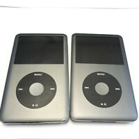 (2) DEAD AS-IS Apple iPod Classics 160GB 7th Gen | A1238