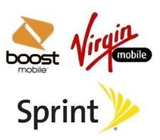 Sprint iPhone X MAX XS X 8 7 6 6S 5S Plus Unlock Code Service Unlocking sim card