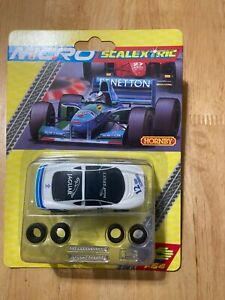 MICRO SCALEXTRIC G2007 JAGUAR XJ220 NO.12 WHITE - BRAND NEW - RARE BLISTER PACK