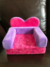 Pink & Purple Chair/Bed for Build-a-Bear