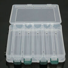 Accessories Tackle Double Sided Storage Box Lure Box Organizer 12 Compartment