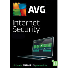 AVG Internet Security & Antivirus PRO 2018 3 Computers 1 Year Digital Download