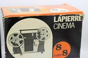 715 - Projecteur Lapierre cinéma 600LS - 8 mm/super 8 - Avec sa boite