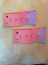 2 1984 Los Angeles Olympics Basketball Tickets August 7, 1984