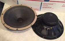"""Pair Vintage 1970s Rola 10"""" ceramic speakers 16 ohms"""