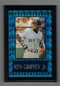 "Vintage 1990s 6.5"" x 4.5"" Card Plaque Ken Griffey Seattle Mariners #2"