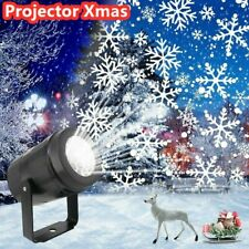 Snowfall Projector Christmas LED Lights Projection Lamp Party Decoration H