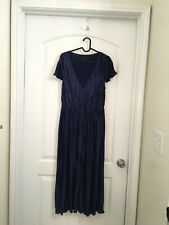Urban Outfitters Midnight Blue Shiny Dress size m/m