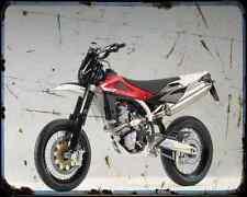 Husqvarna Sm 510R 07 1 A4 Metal Sign Motorbike Vintage Aged