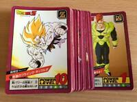 Carte Dragon Ball Z DBZ Super Battle Part 3 #Reg. Set BANDAI 1992 MADE IN JAPAN