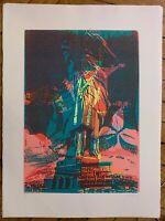 Bury Pol Lithographie signée art abstrait cinétique abstraction liberty USA