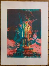 Bury Pol Lithographie signée art abstrait cinétique abstraction liberty USA