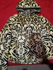A DIAMOND IN THE SNOW Jacket  sz 10 women animal print