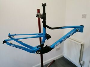 Carbon Full Suspension Frame mtb 29er Bike Bicycle Frameset 142mm BSA