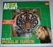 Animal Planet Puzzle Cubes - Big Cats