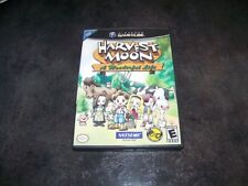 HARVEST MOON A WONDERFUL LIFE NINTENDO GAME CUBE