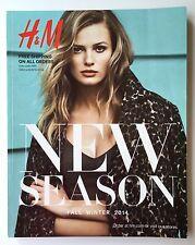 H&M FALL WINTER CATALOG 2014 EDITA VILKEVICIUTE ANNA EWERS DOUTZEN KROES NESCHER