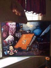 Glassmasters Pinocchio Jiminy Cricket Art Glass Suncatcher Vintage 1990s NIB