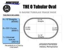 LIONEL O GAUGE TUBULAR OVAL TRACK PACK LAYOUT design not fastrack w lock on NEW