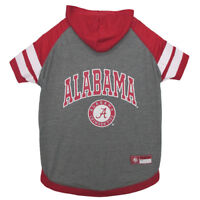 Alabama Crimson Tide Pets First Officially Licensed Dog Pet Hoodie T Shirt XS-L