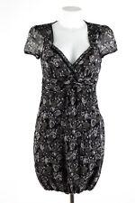 Liu Jo Kleid Gr. IT 44 DE 38 Seide Sommerkleid Silk Chiffon Dress Robe