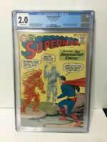 SUPERMAN #145 CGC 2.0 SUPERGIRL KRYPTO LEX LUTHOR BIZARRO MR MXYZPTIK BRAINIAC