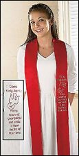 "Come Holy Spirit Confirmation Stole (HS323R) NEW 4"" x 45"""