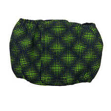Male Dog Diaper - Made in USA - Green Double Dots Water-Resistant Washable Do...