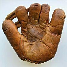 1930s Denkert Marathon Joe Gordon 207 Baseball Glove Joined Strap Finger Mitt
