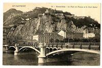 CPA 38 Isère Grenoble Le Pont de France et Fort Rabot