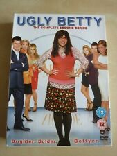 Ugly Betty Complete Series 2. Five Disc DVD BOX SET. Brighter. Bolder. Bettyer.