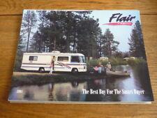 FLEETWOOD FLAIR MOTORHOME  BROCHURE 1994