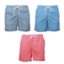 Costume Uomo Mare Fantasia Boxer Piscina Pantaloncino Bermuda Shorts Swimsuit