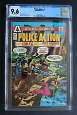 POLICE ACTION #3 LOMAX Last Atlas/Seaboard 1975 PLOOG Manhunter TV Movie CGC 9.6