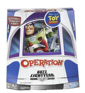 Operation: Disney Pixar Toy Story Buzz Lightyear Operation Board Game Family Fun
