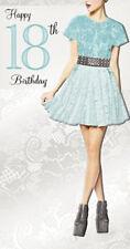 18th_GREEN DRESS__GIRL_BIRTHDAY CARD