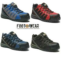 MENS DICKIES WATERPROOF SAFETY COMPOSITE TOE CAP WORK TRAINERS SHOES ANKLE BOOTS