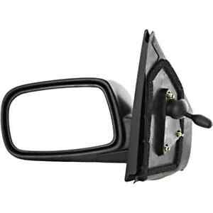Fits 00-05 Echo Left Driver Manual Remote Mirror Assembly Textured Manual Fold