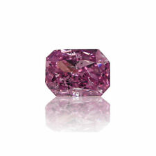 Fancy Vivid Pink Diamond Natural Ct 0.14 Amazing GIA Certified Loose Radiant Cut
