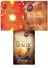 Rhonda Byrne 3 Collection Books Set Pack,The Power,Magic,Secret Daily Teachings