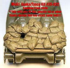 1/35 Scala RESINA KIT SB6 CARRO ARMATO SHERMAN M4A1 Asuka #35022 sacchi di