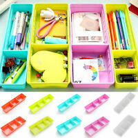 Adjustable Drawer Kitchen Cutlery Divider Case Makeup Storage Box Home Organizer