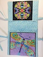 Walker Organizer Handmade Quilted Bag Tote Cotton