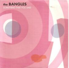 THE BANGLES - SOMETHING THAT YOU SAID + ETERNAL FLAME CD SINGLE 2 TRACKS 2003