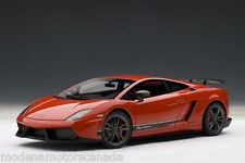 LAMBORGHINI GALLARDO LP570-4 SUPERLEGGERA RED 1:18 AUTOART 74655 SPECIAL AUCTION