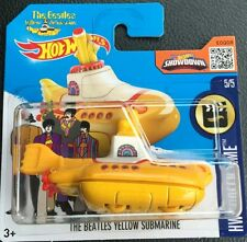 Hot Wheels THE BEATLES YELLOW SUBMARINE Limited FAMOSO SUBMARINO AMARILLO