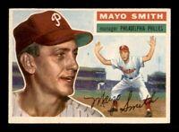 1956 Topps Set Break #60 Mayo Smith EX *OBGcards*